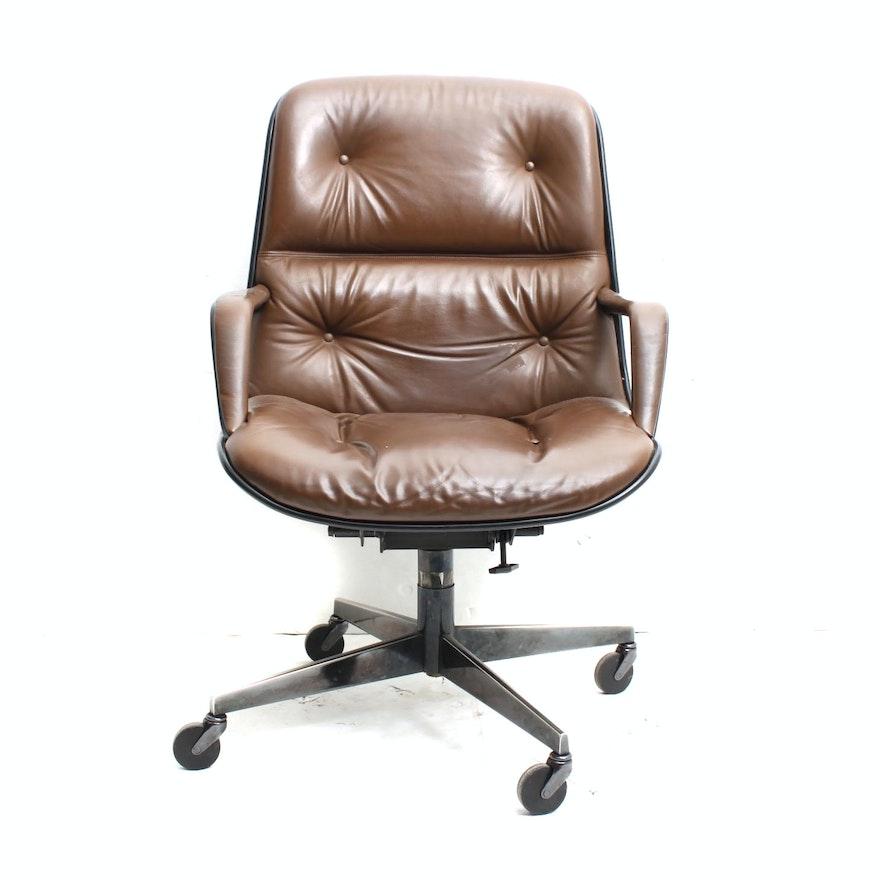 Mid Century Modern Executive Chair By Steelcase Ebth
