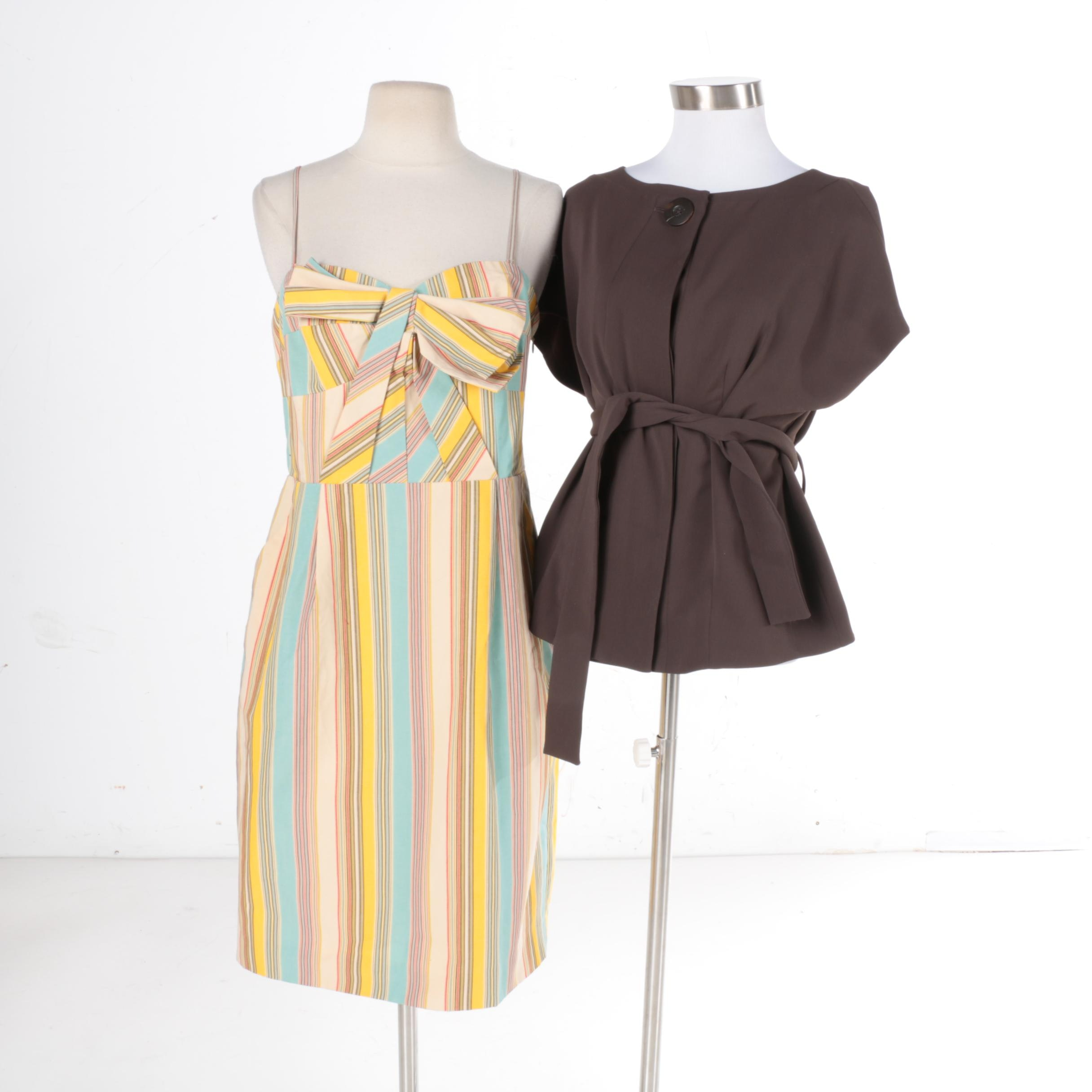 Women's Dress and Belted Top Including Moulinette Soeurs