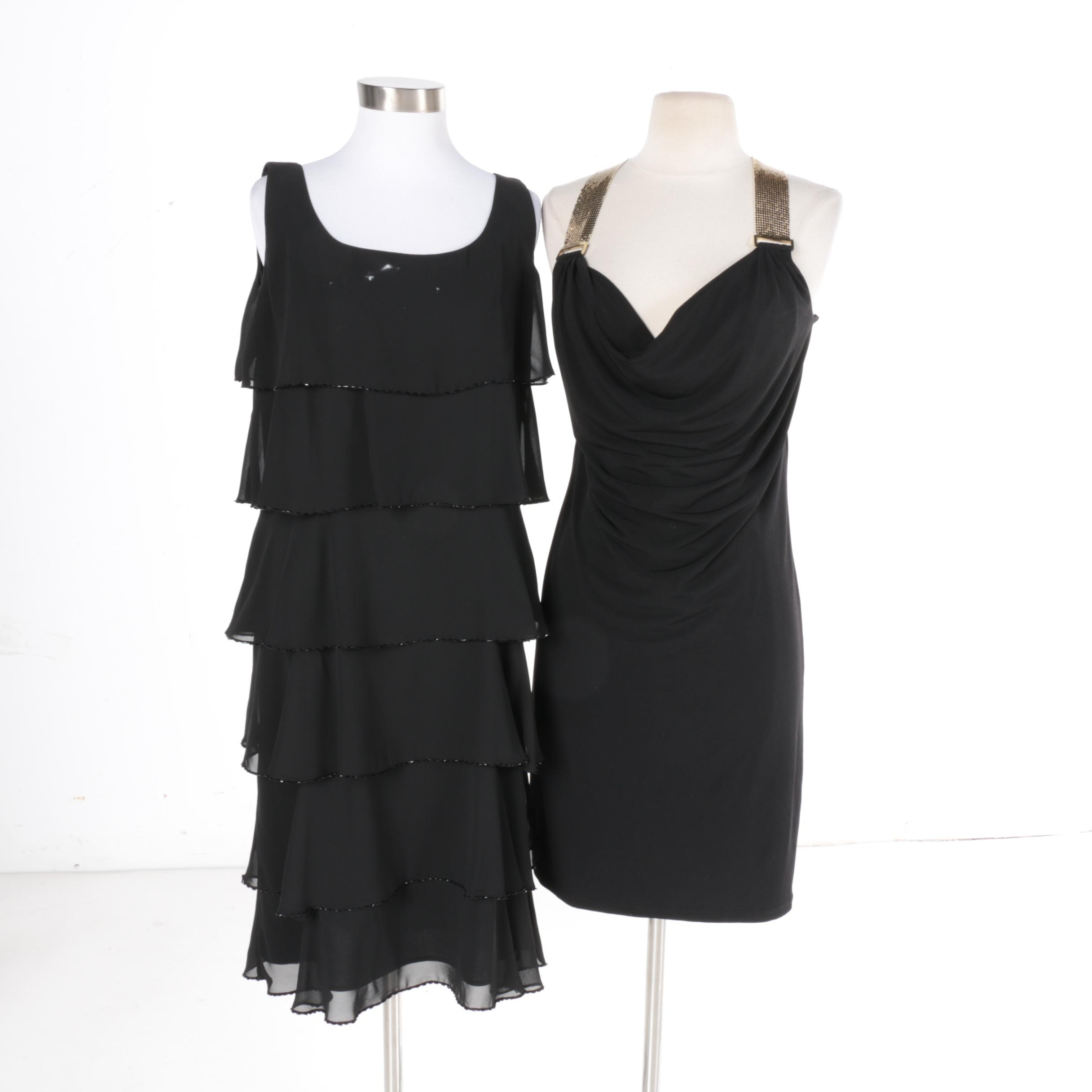 Michael by Michael Kors and Patra Black Dresses