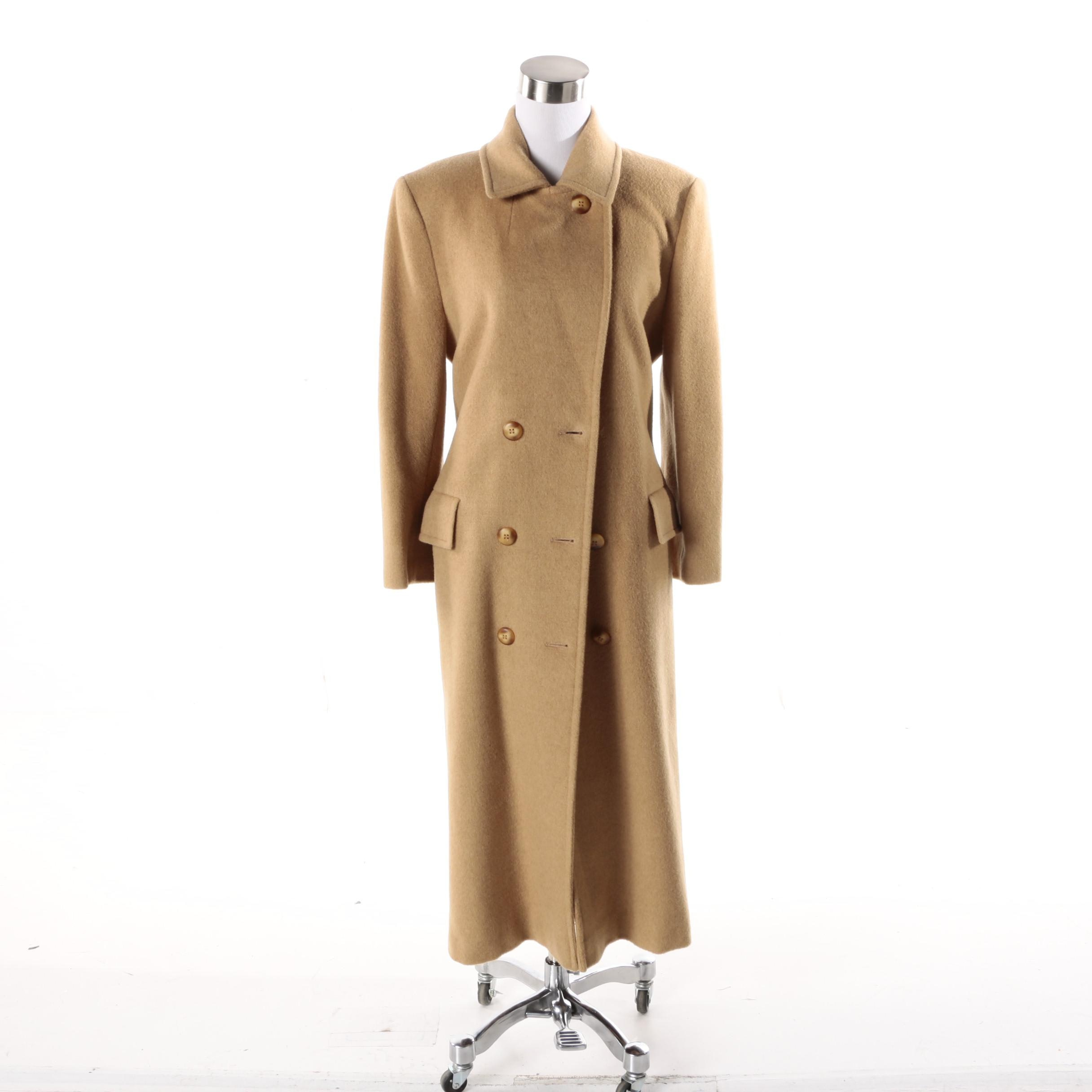 Women's Camel Hair Coat