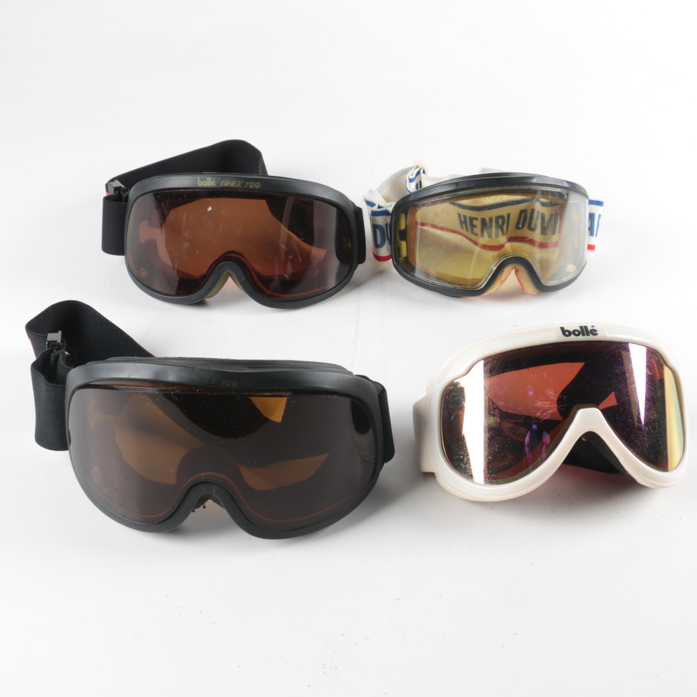 Ski Goggles featuring Bollé