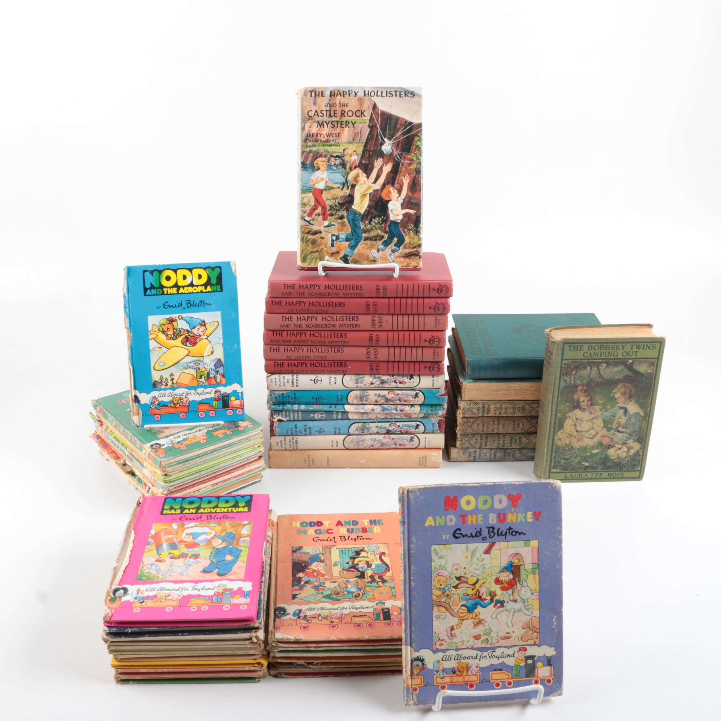 Children's Books Including The Hollisters and Bobbsey Twins