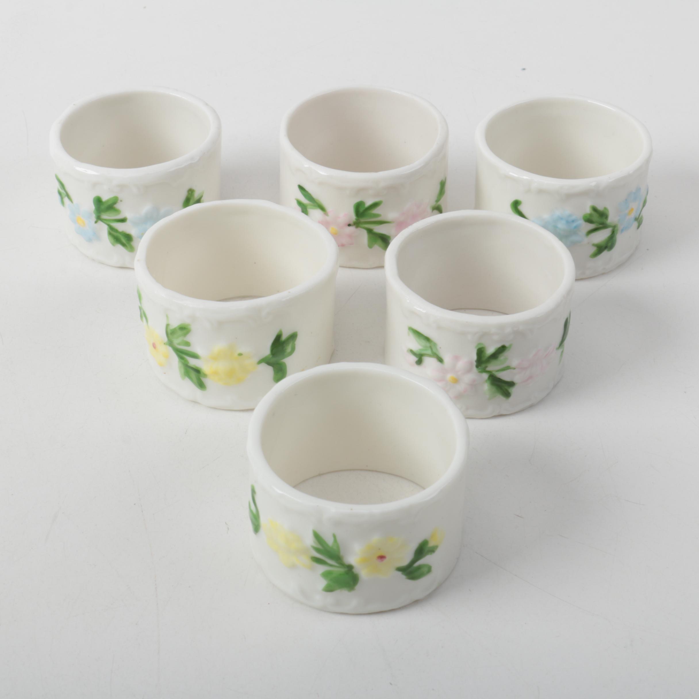 Porcelain Napkin Rings