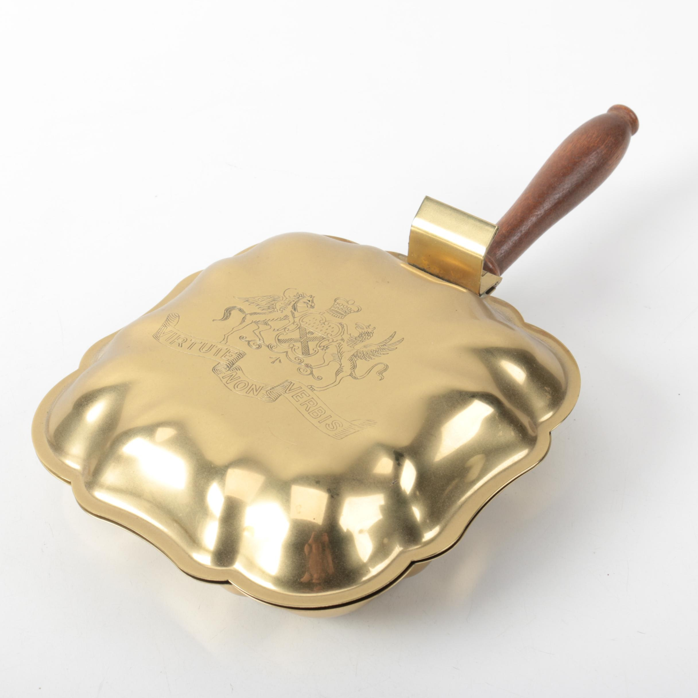 Brass Crumb Catcher