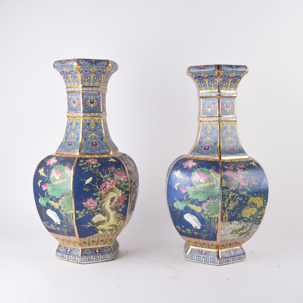 Chinese Decorative Ceramic Vases