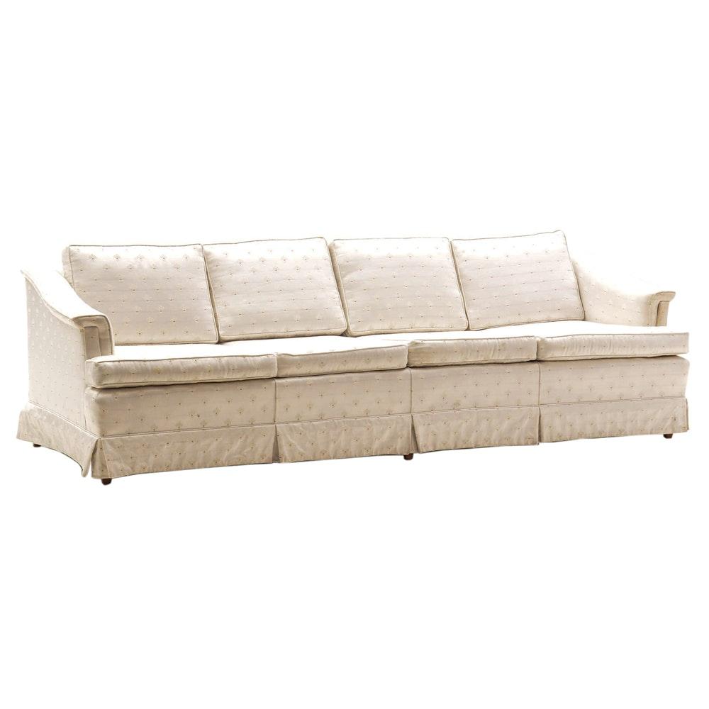 Contemporary White Sofa