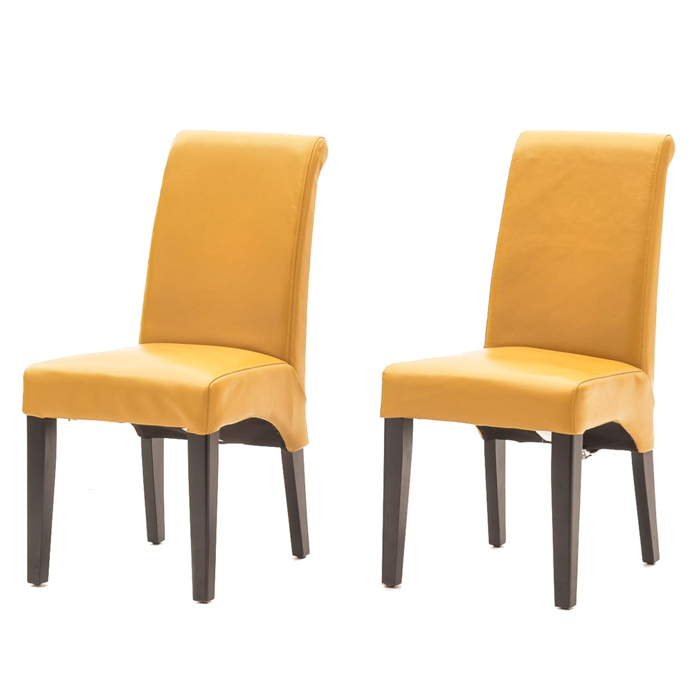 Pair of Valencia Parson Style Side Chairs