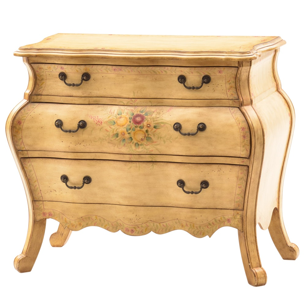 Hand-Painted Bombay Chest of Drawers