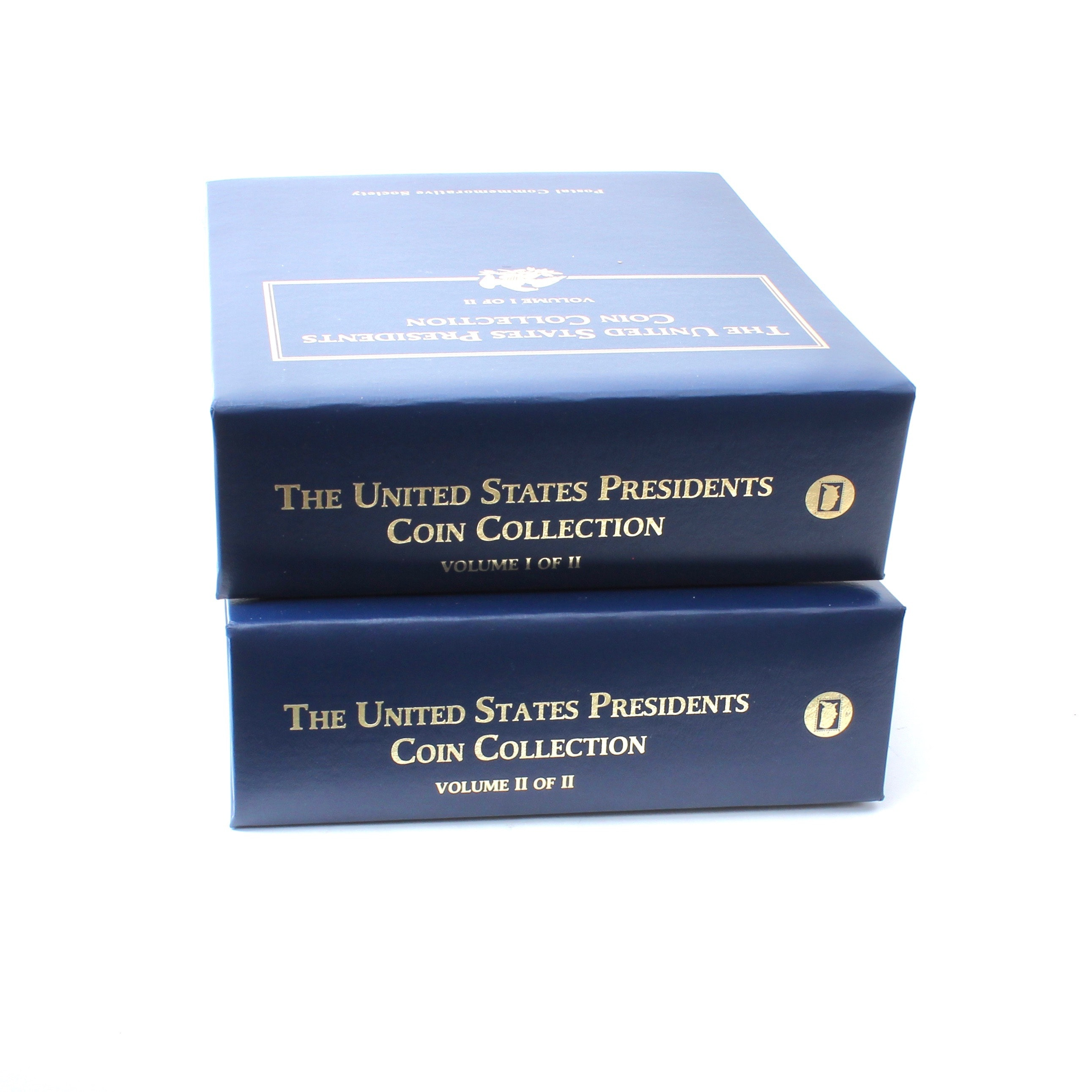 The United States President Coin Collection Volumes I & II