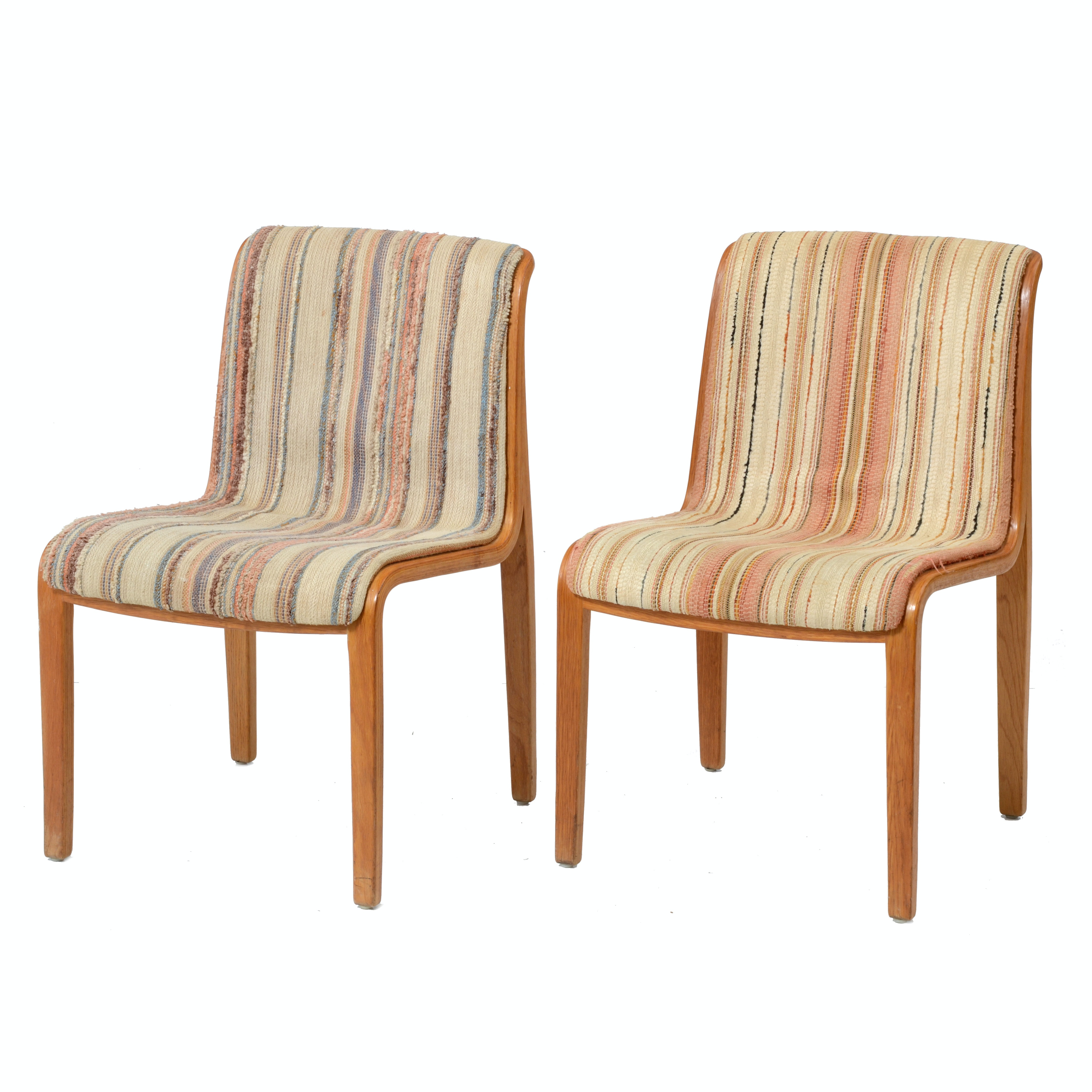Vintage Mid Century Modern Knoll International Side Chairs
