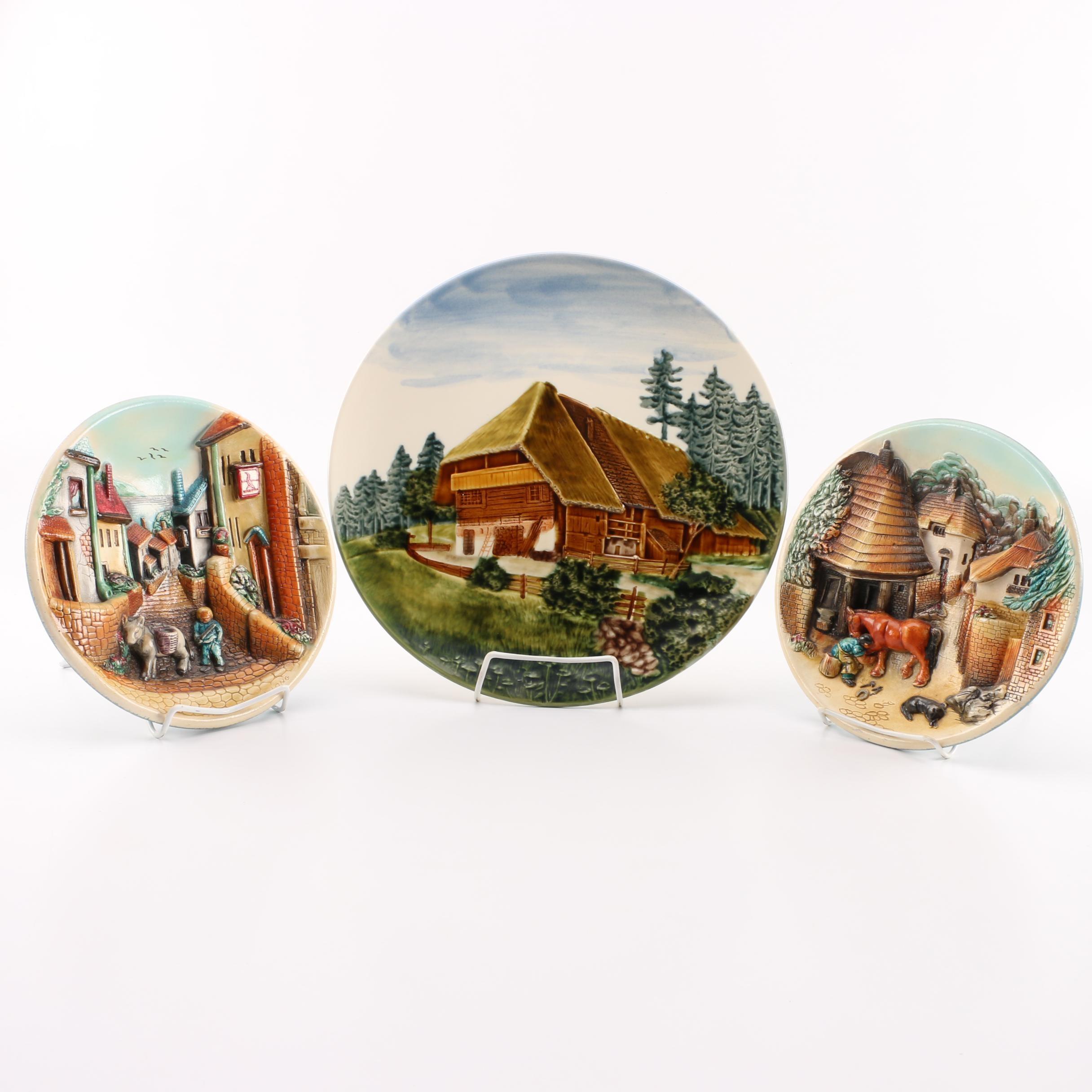 Decorative Ceramic Plates