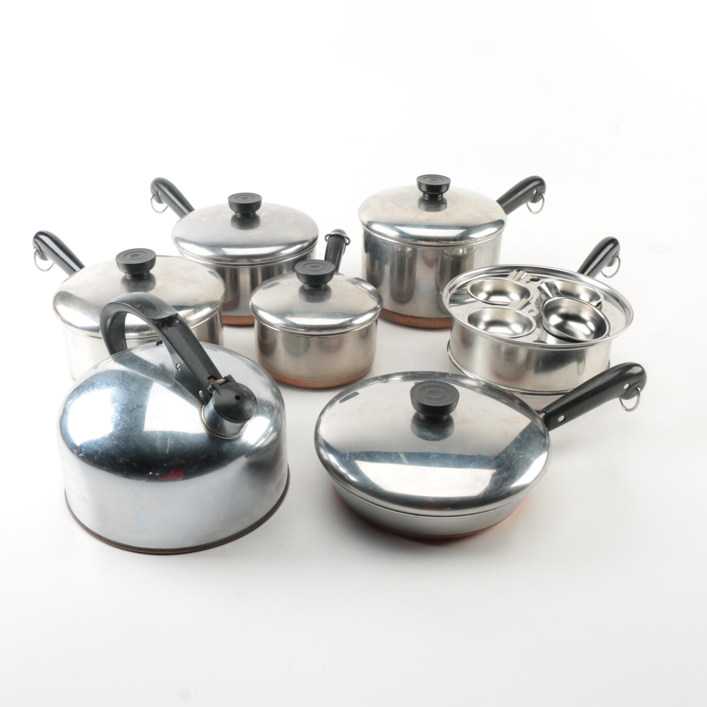Revere Ware Cooking Set