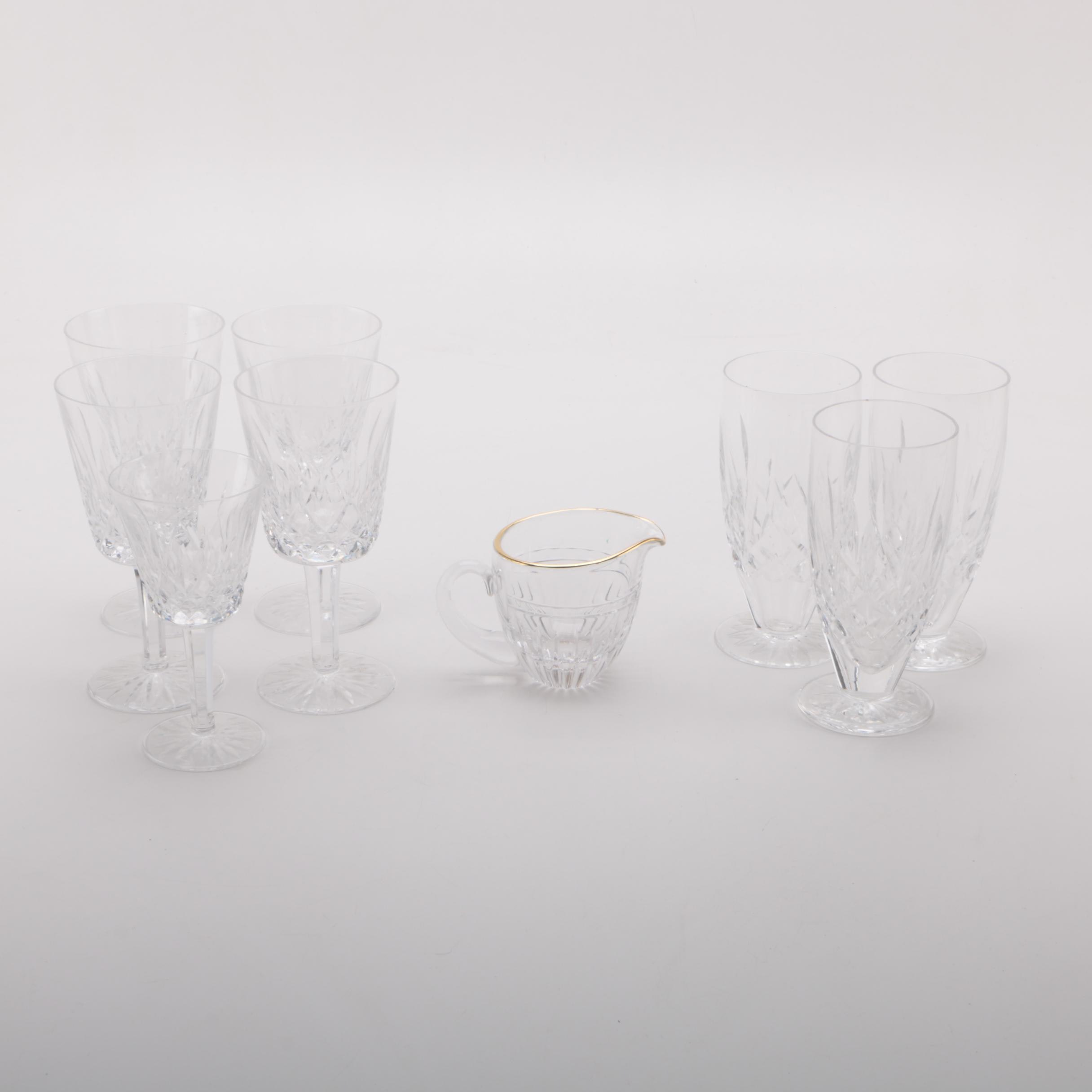 "Waterford Crystal ""Lismore"" Glassware"