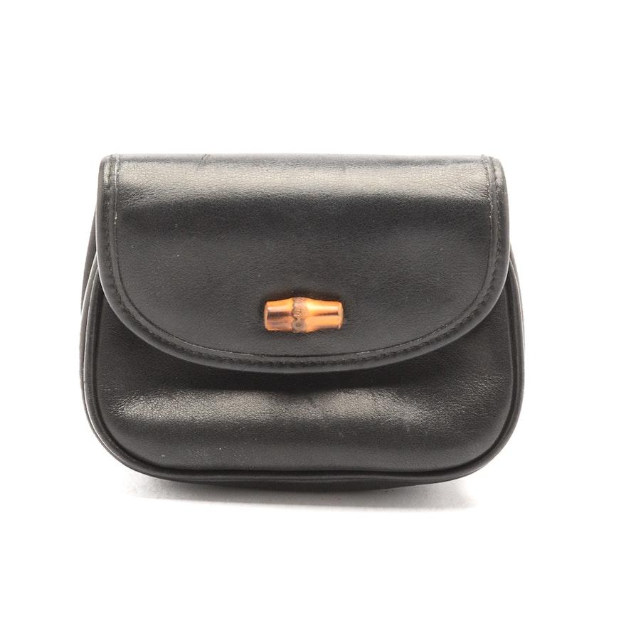 34726ff0acc Vintage Gucci Leather Belt Bag   EBTH