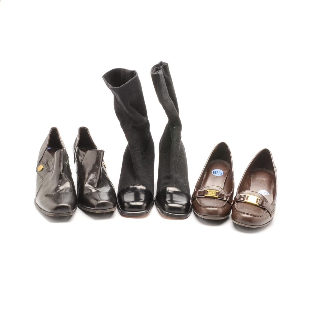 Assorted Women's Shoes Including Ralph Lauren