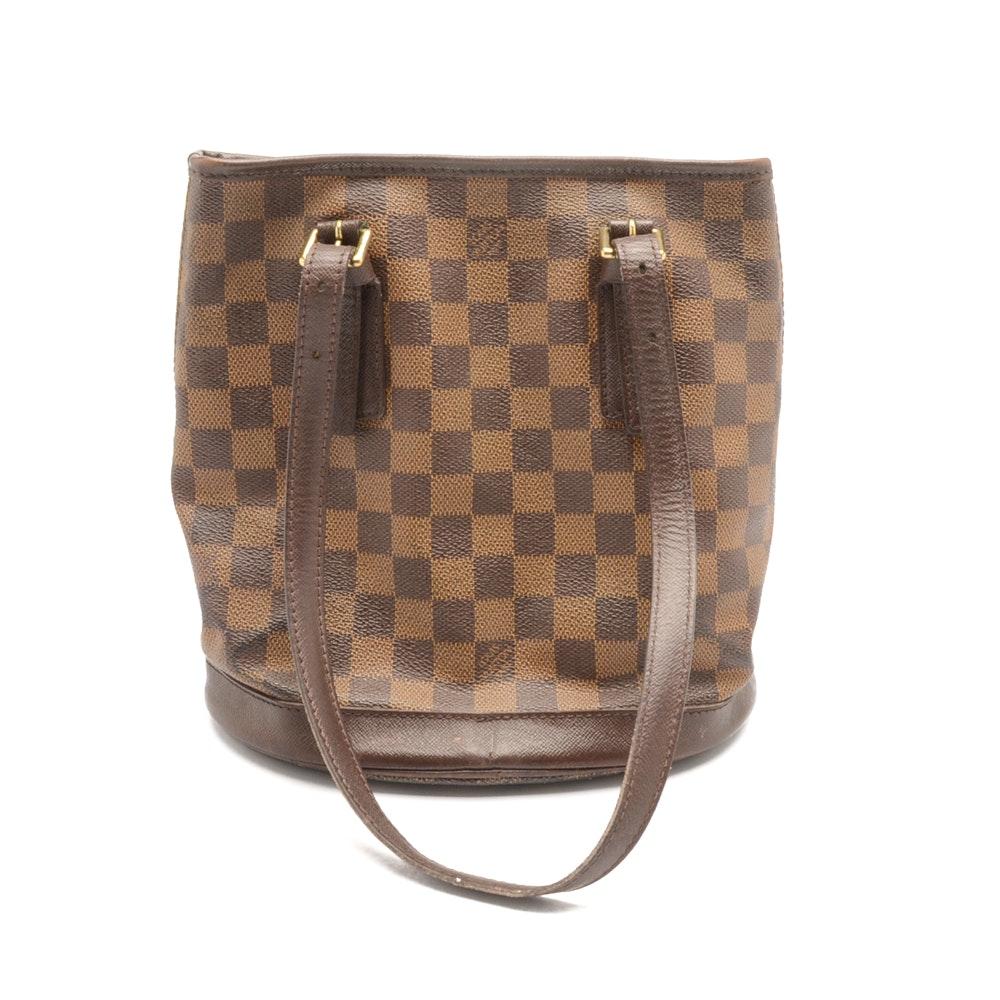 Louis Vuitton Damier Ebène Marais Bucket Bag