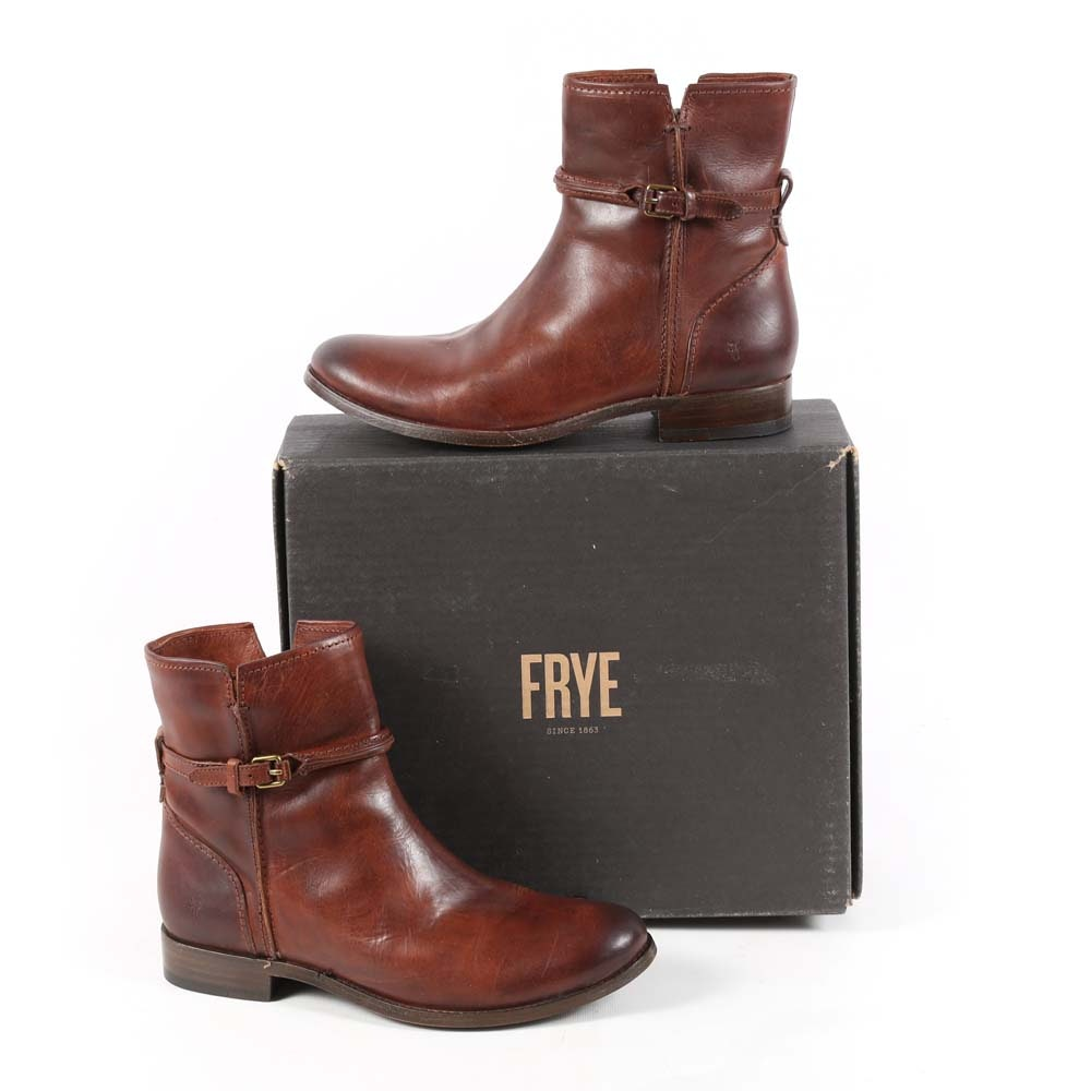 Frye Women's Melissa Seam Short Boots