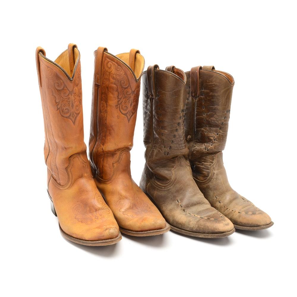 Women's Vintage Cowboy Boots