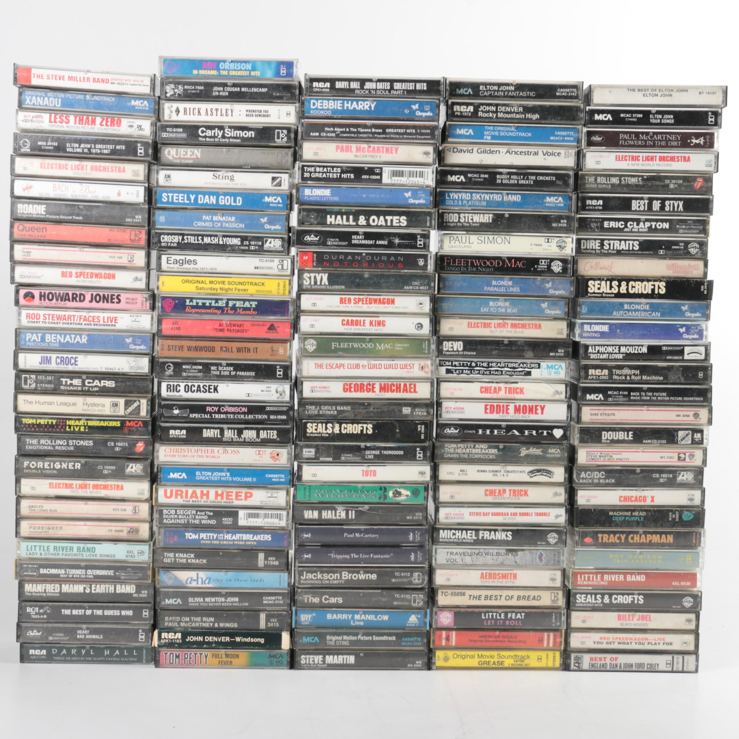 Eric Clapton, Styx and Other Assorted Cassette Tapes
