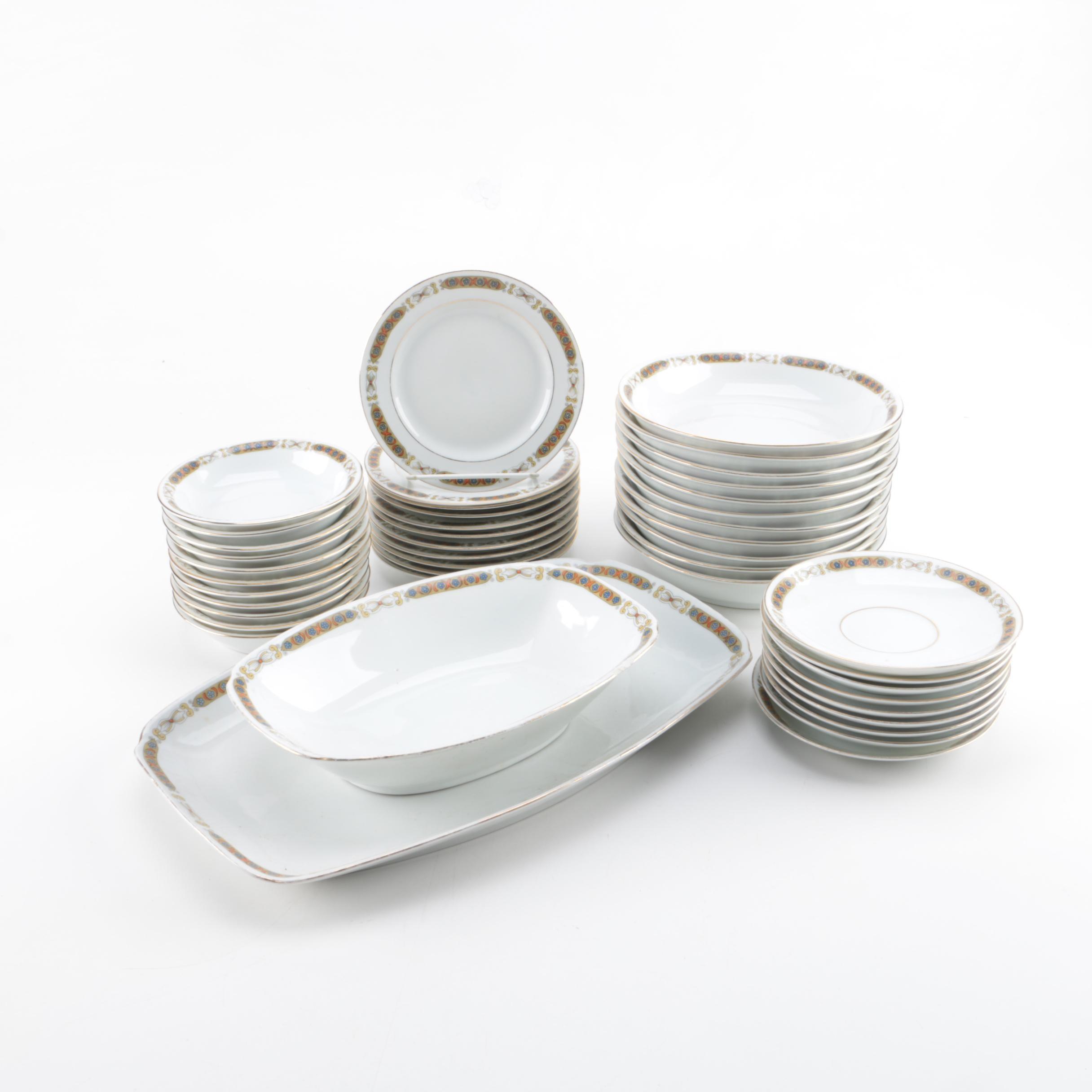 Vintage Epiag Porcelain Tableware