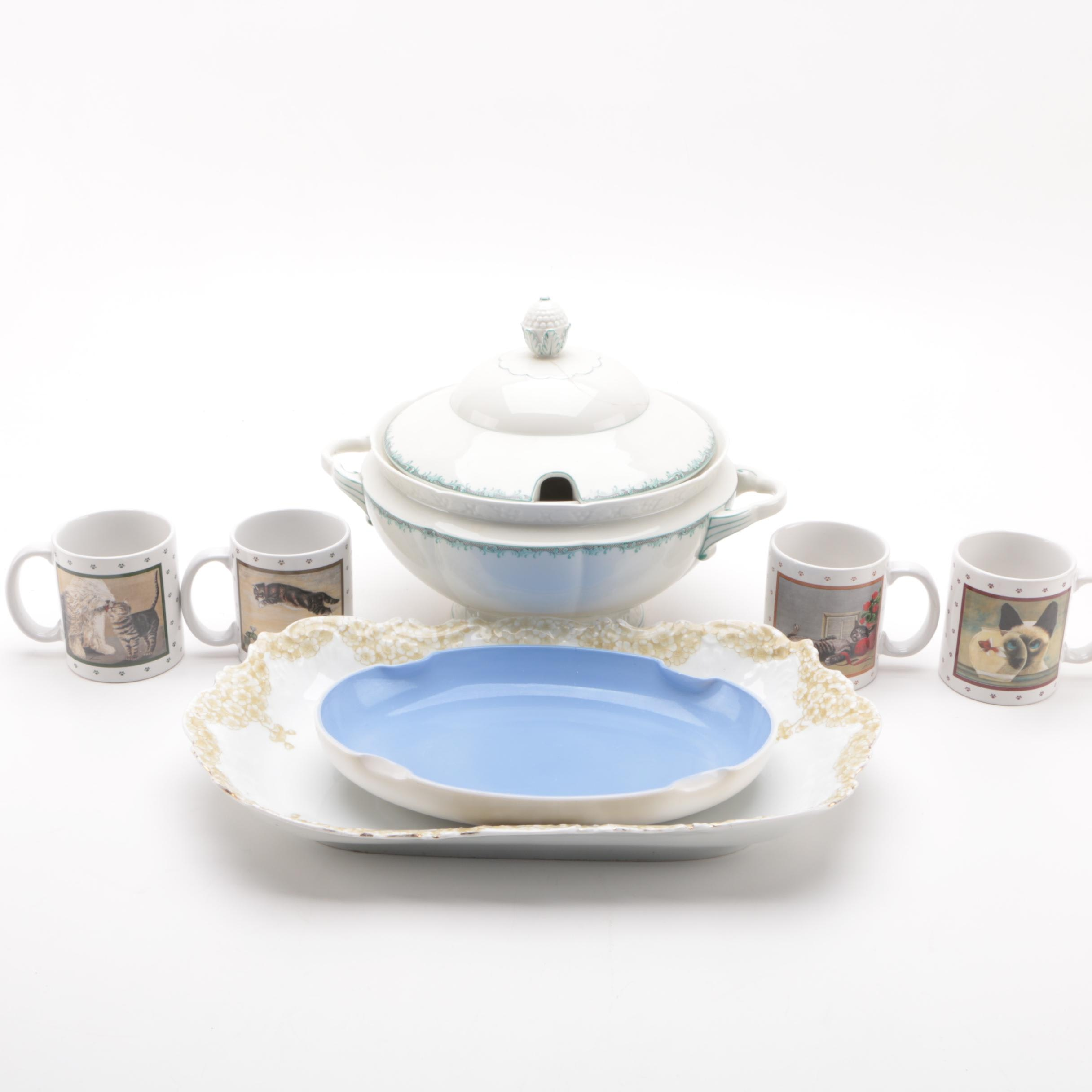 Vintage and Antique Marx & Gutherz, Tettau and Other Porcelain Tableware
