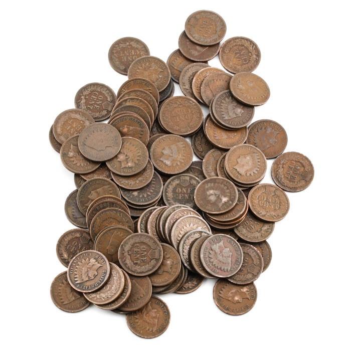 Ninety-Nine Indian Head Cents