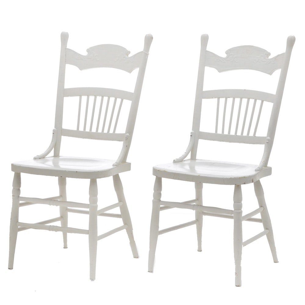 Pairing of Vintage Side Chairs