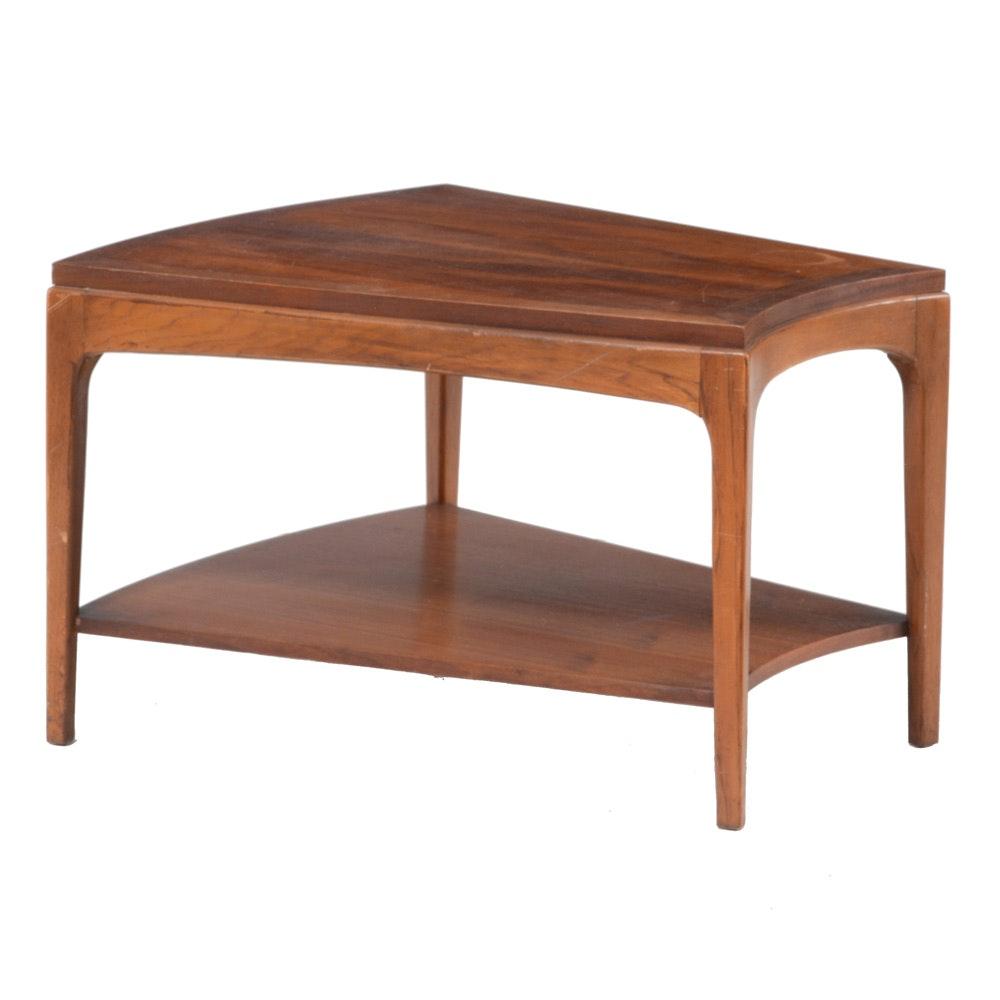 "Mid Century Modern ""Rhythm"" Wedge Side Table by Lane"