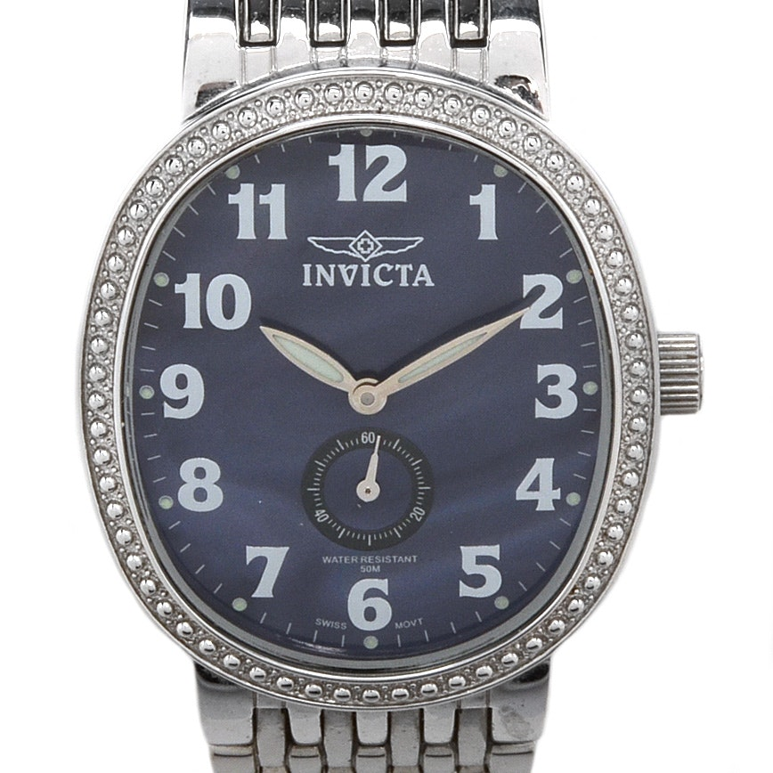 Invicta 4767 Analog Stainless Steel Wristwatch