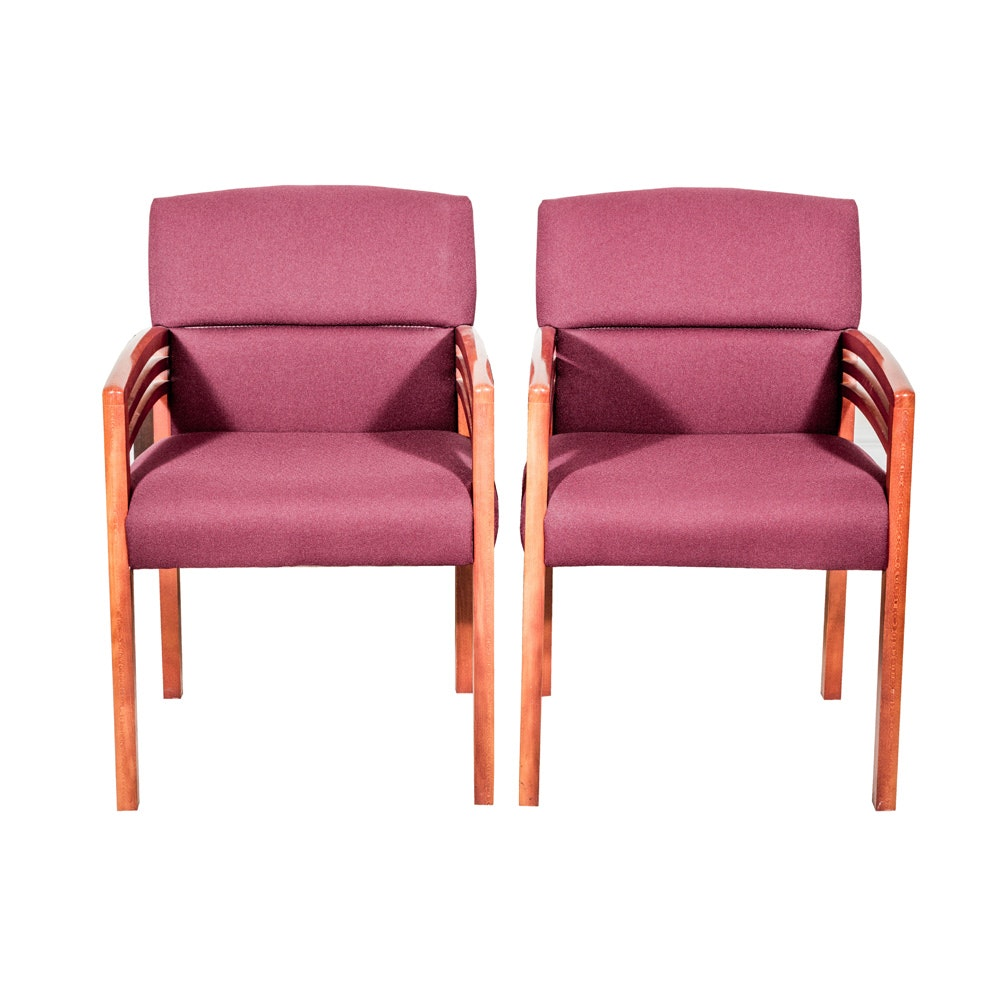 Pair of Contemporary Armchairs by Paoli, Inc.