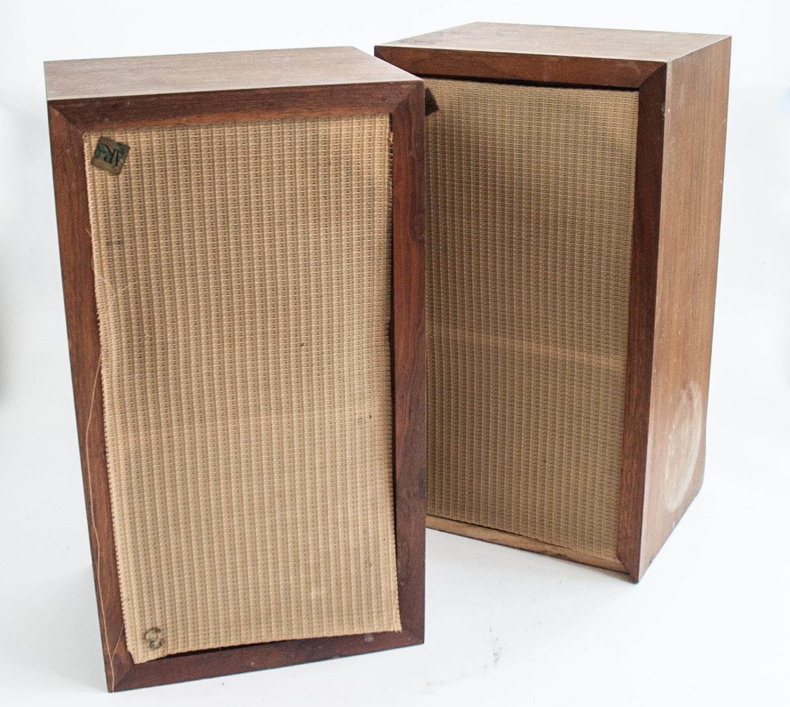 Pair of Wood AR-3 Speakers