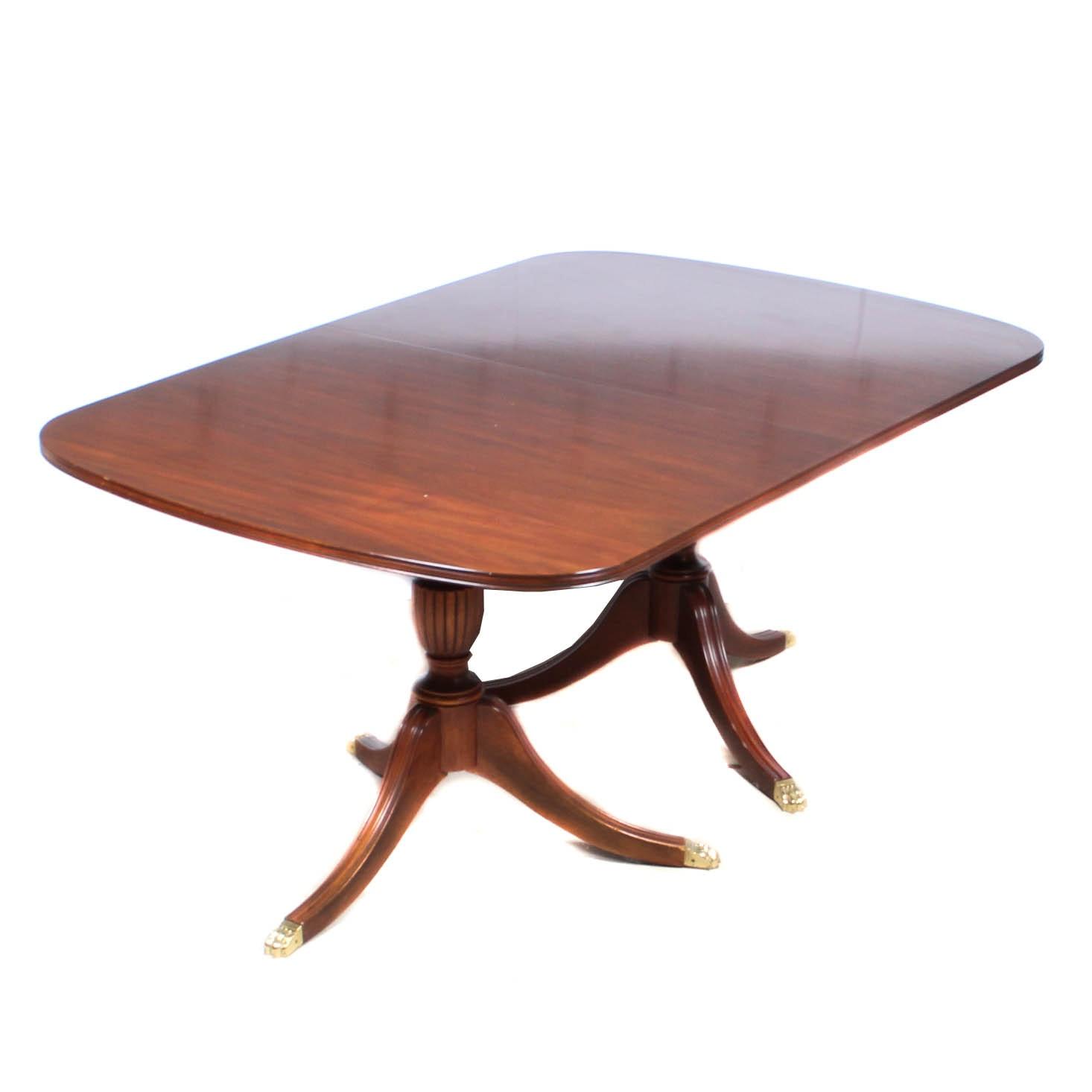 Henkel Harris Queen Anne Dining Table