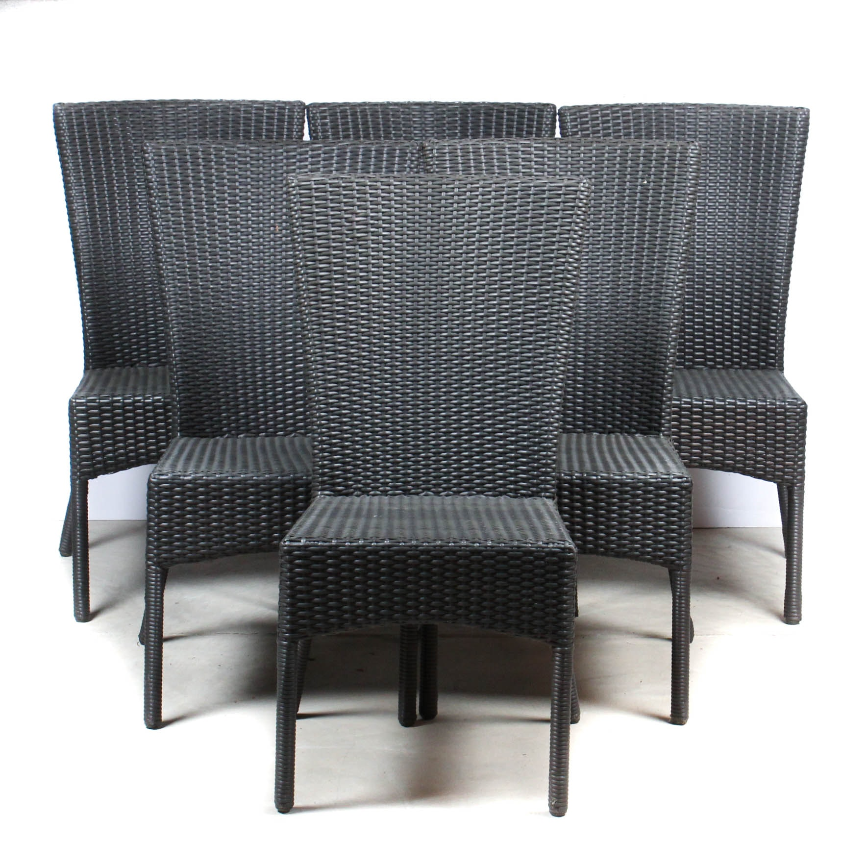 Set of Six Fronstgate Patio Dining Chairs