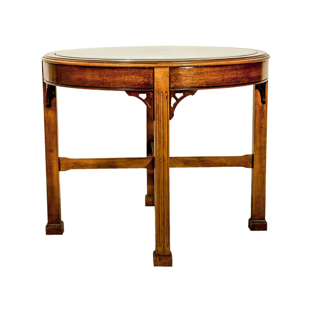 Adams Style Round End Table