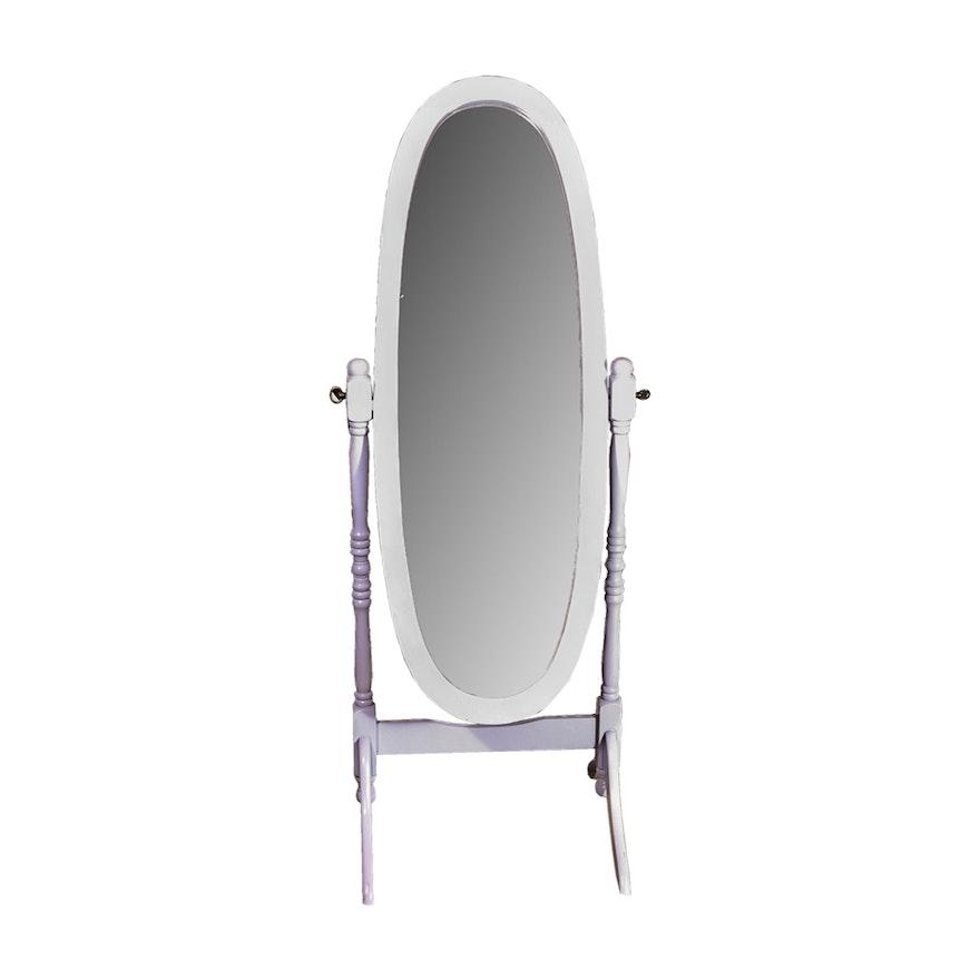 White Cheval Floor Mirror : EBTH
