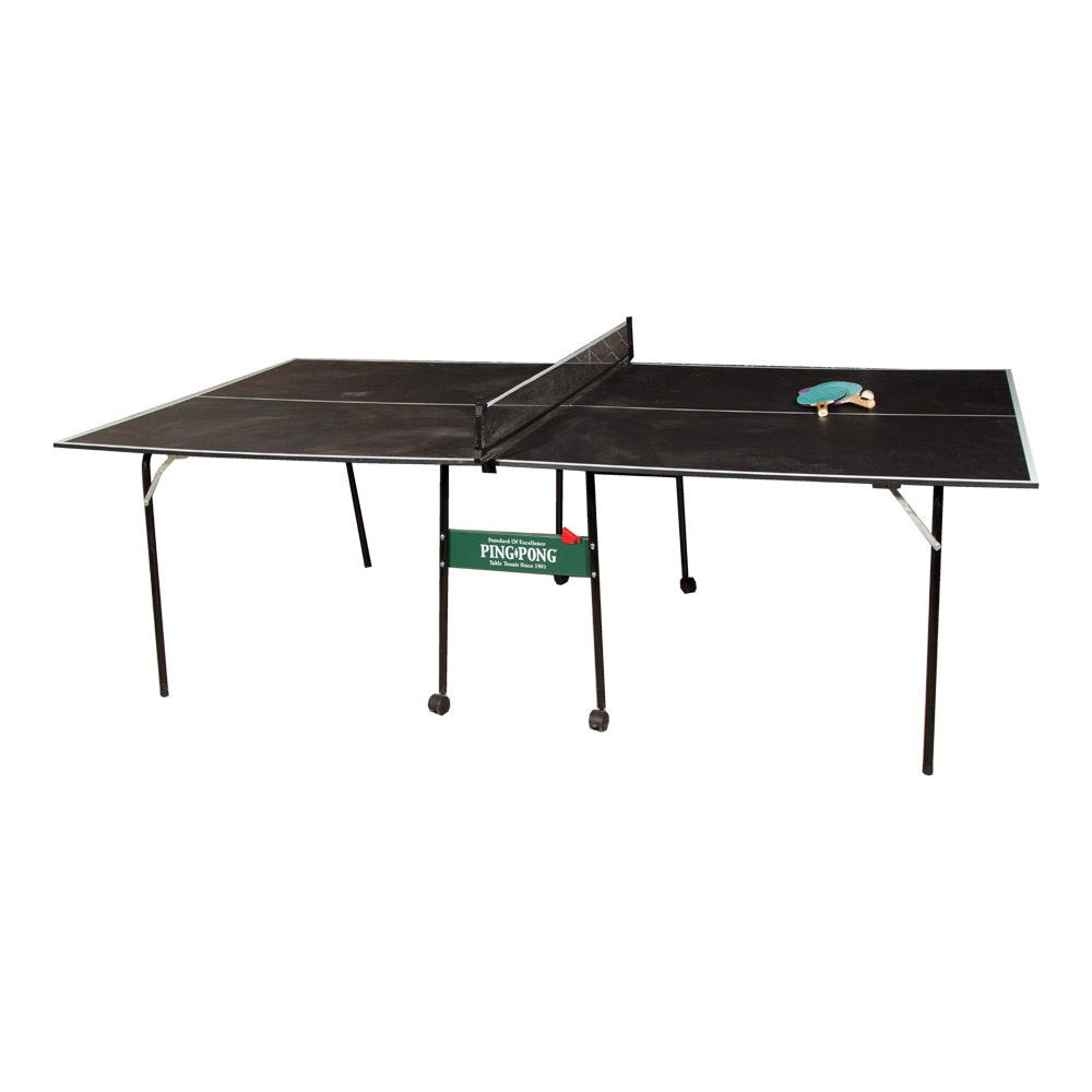 """""""Standard of Excellence"""" Ping Pong Table with Accessories"""