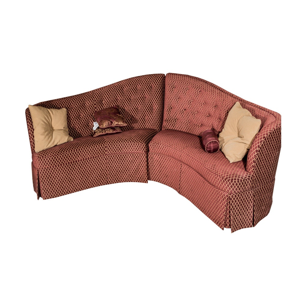 Two Piece Tufted Sectional