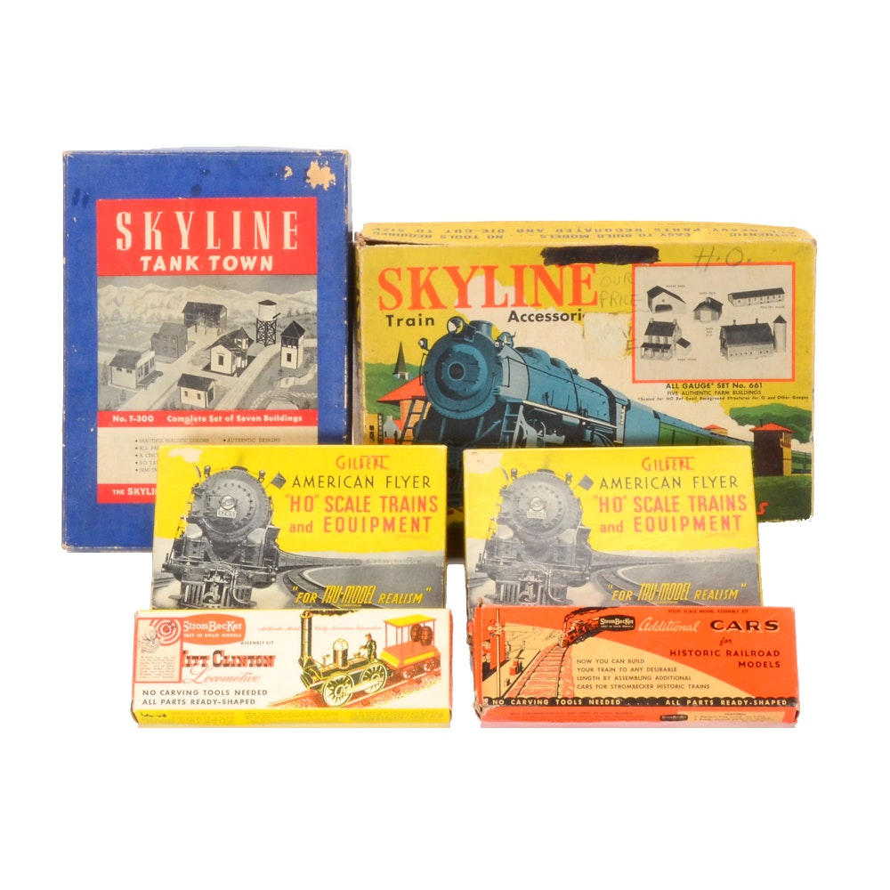 Vintage HO Scale Train Accessory Kits