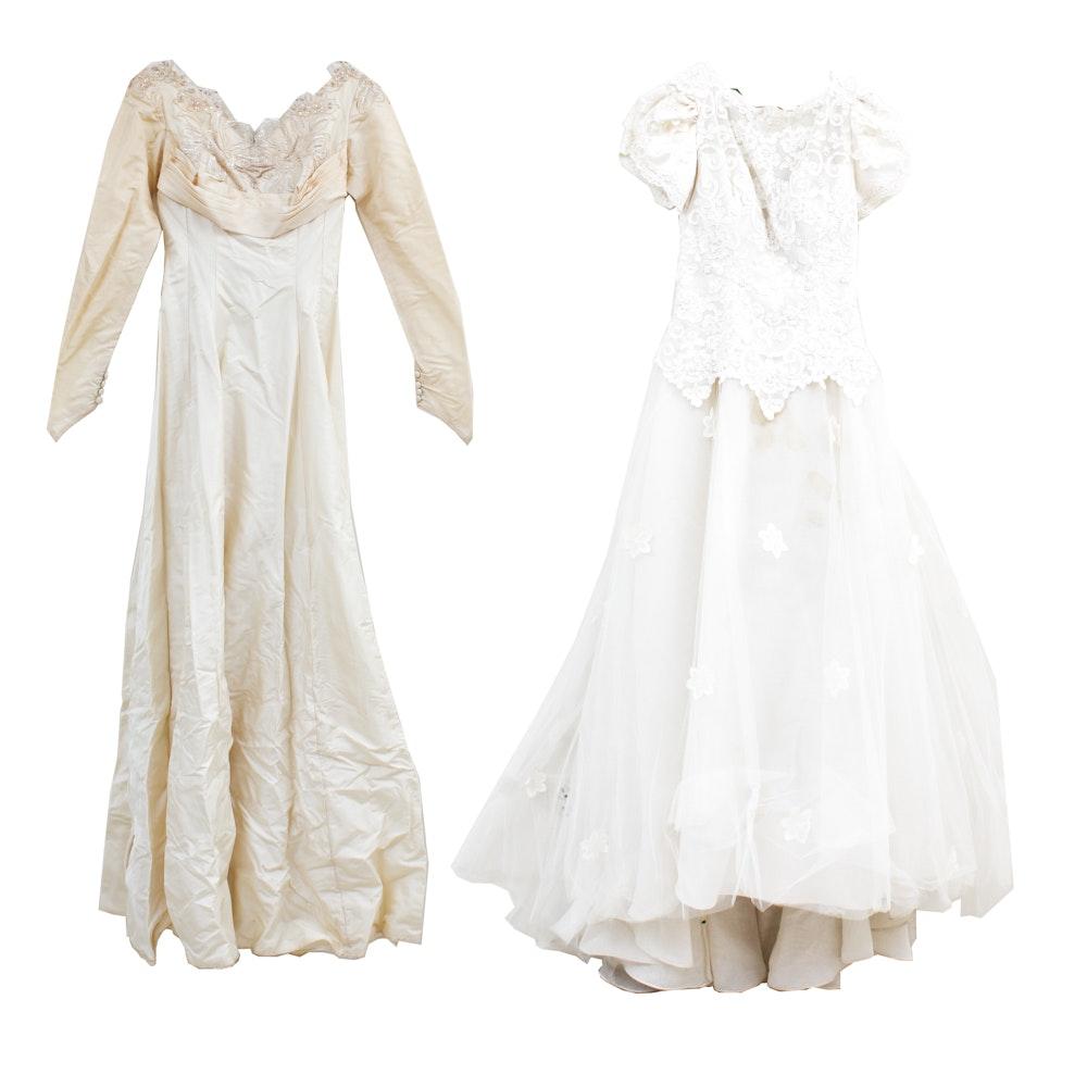 Vintage Custom Wedding Gowns