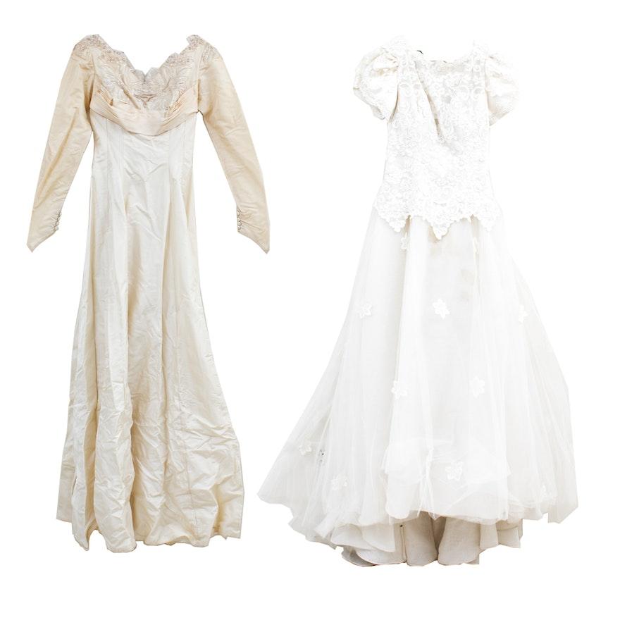 6d9f8529edb Vintage Custom Wedding Gowns   EBTH