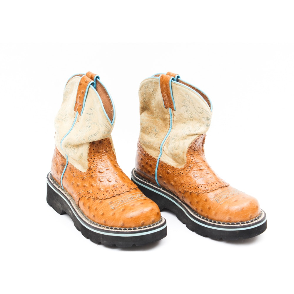 Children's Ariat Leather Boots