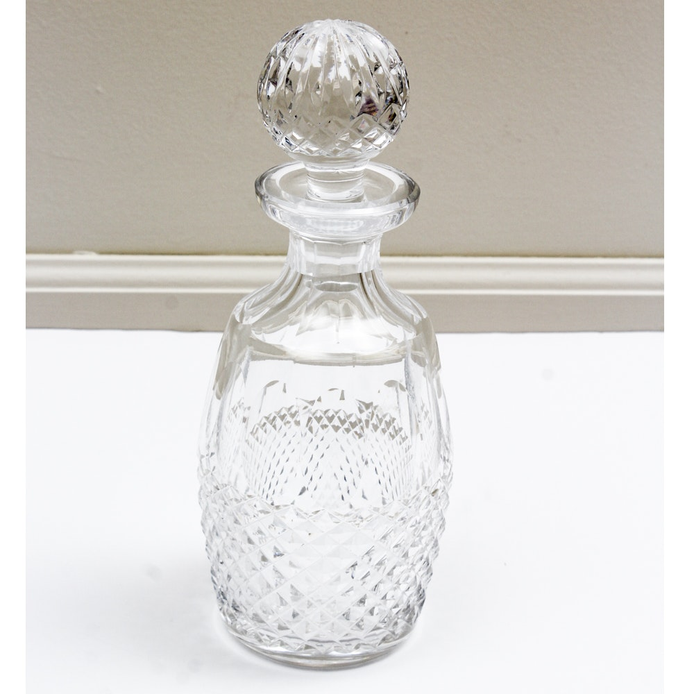 """Waterford Crystal """"Colleen"""" Spirit Decanter"""