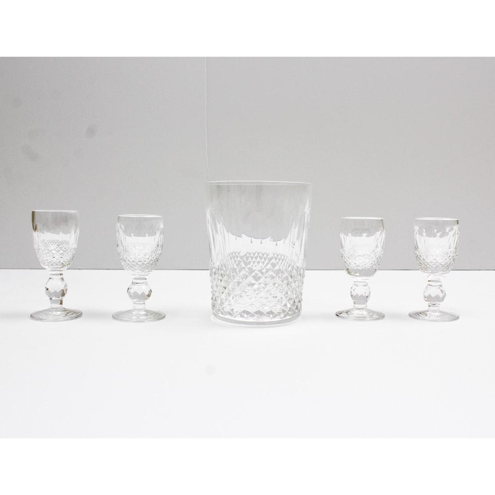 "Waterford Crystal ""Colleen"" Barware"