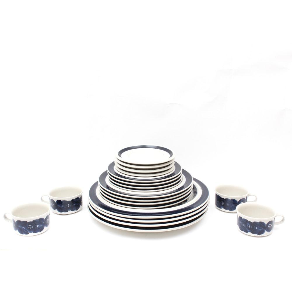 """Arabia Finland """"Anenome"""" Stoneware Tableware"""