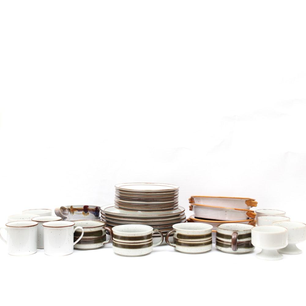 Stoneware Tableware Assortment