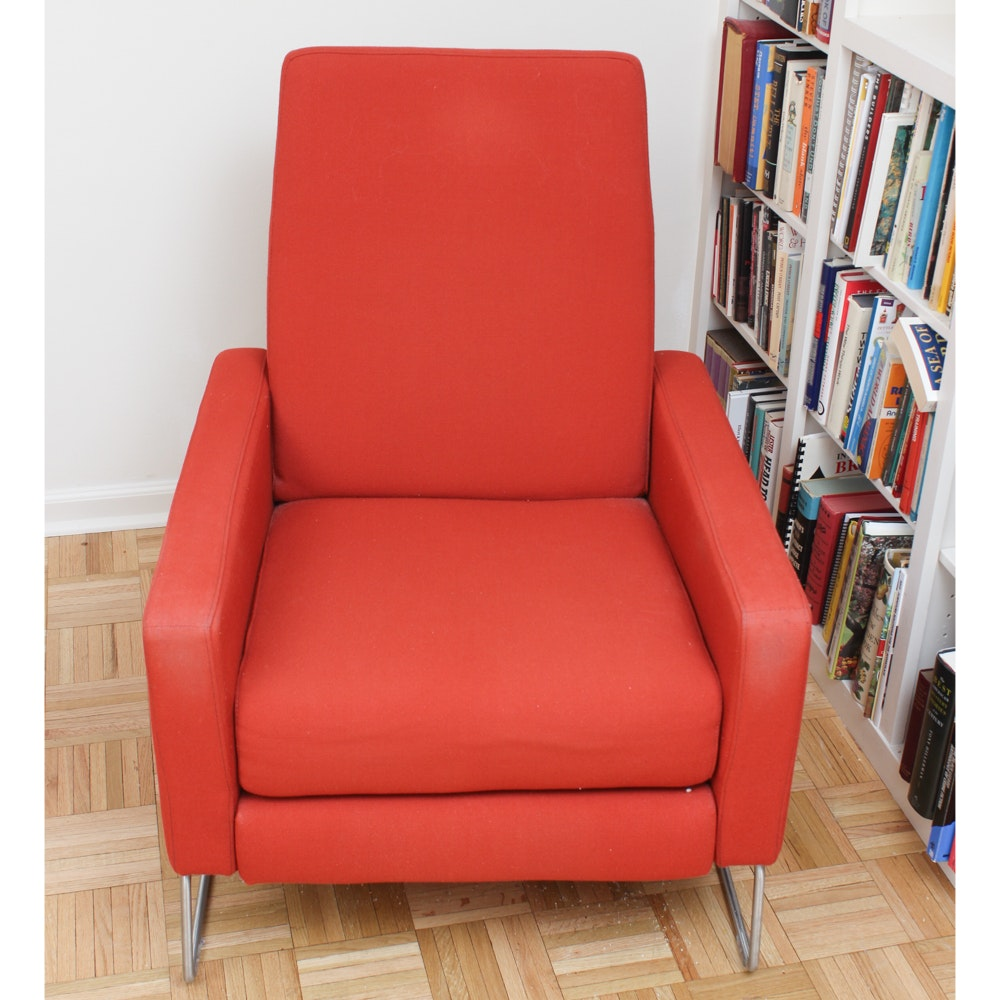 Mid Century Modern Lounger by Design Within Reach
