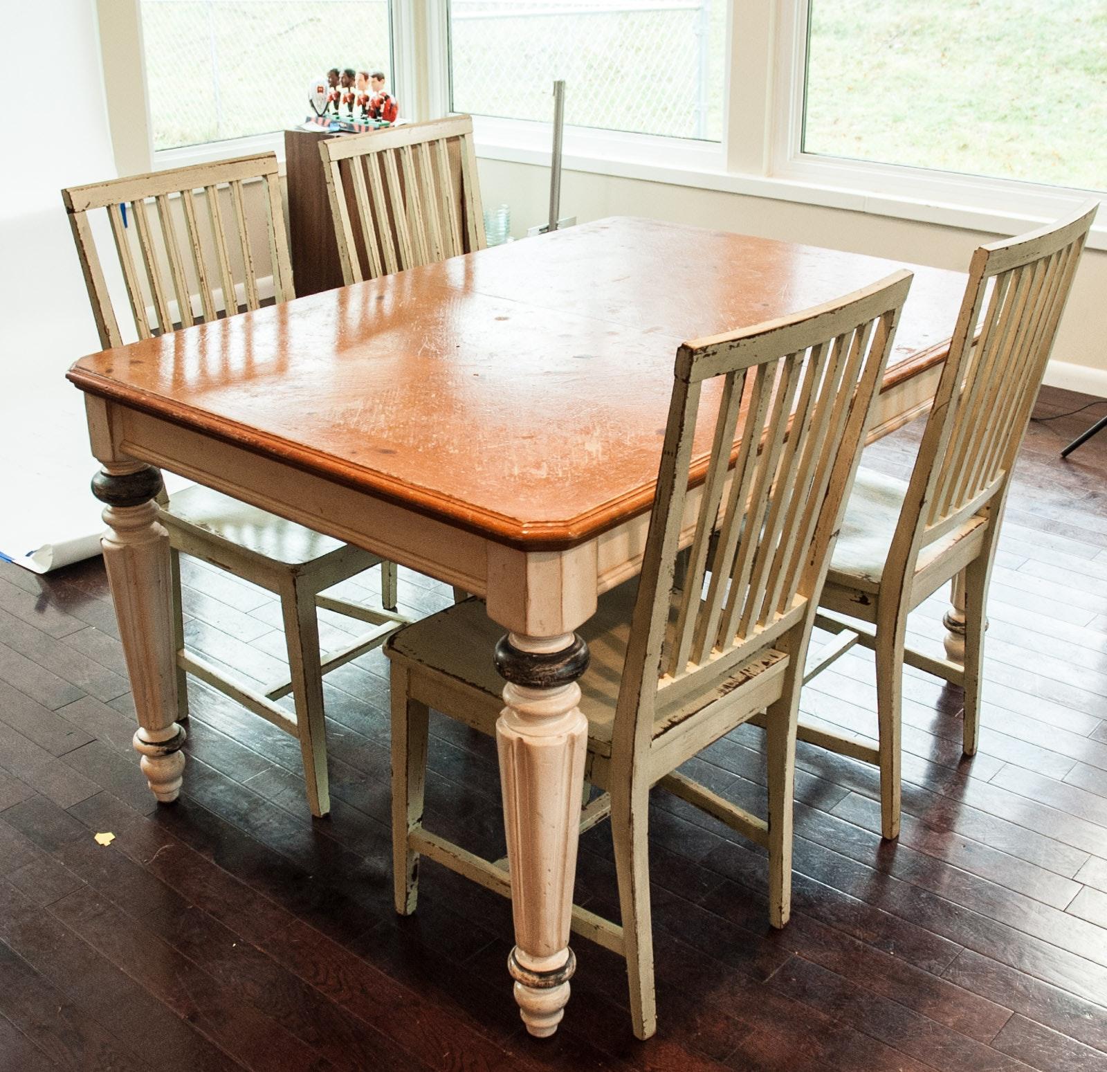 Rustic Farm Table Set