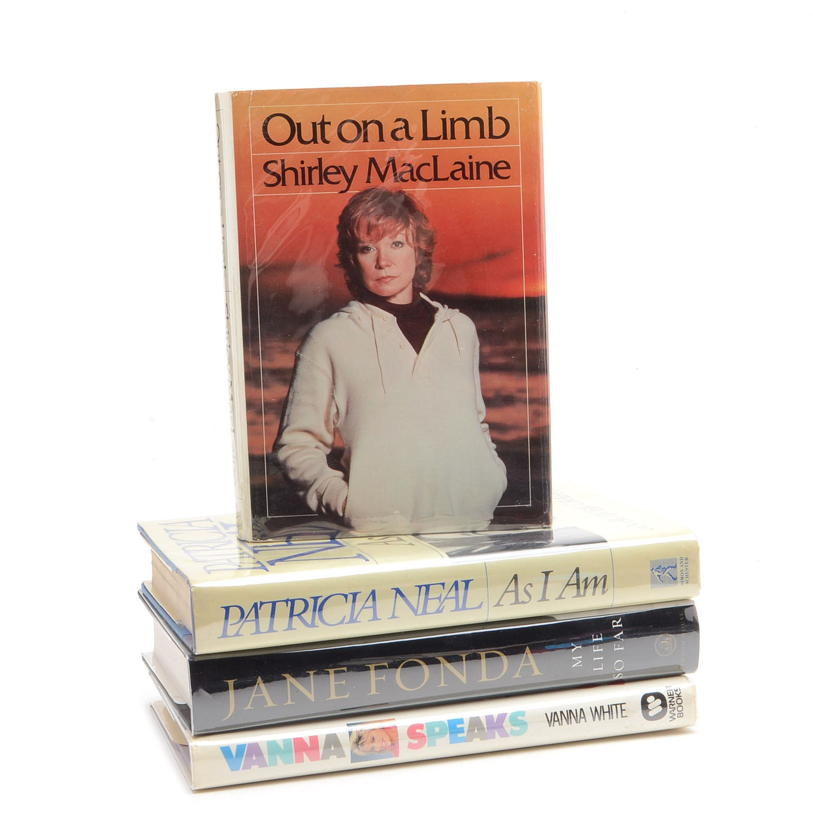 Signed Women of Hollywood Memoirs