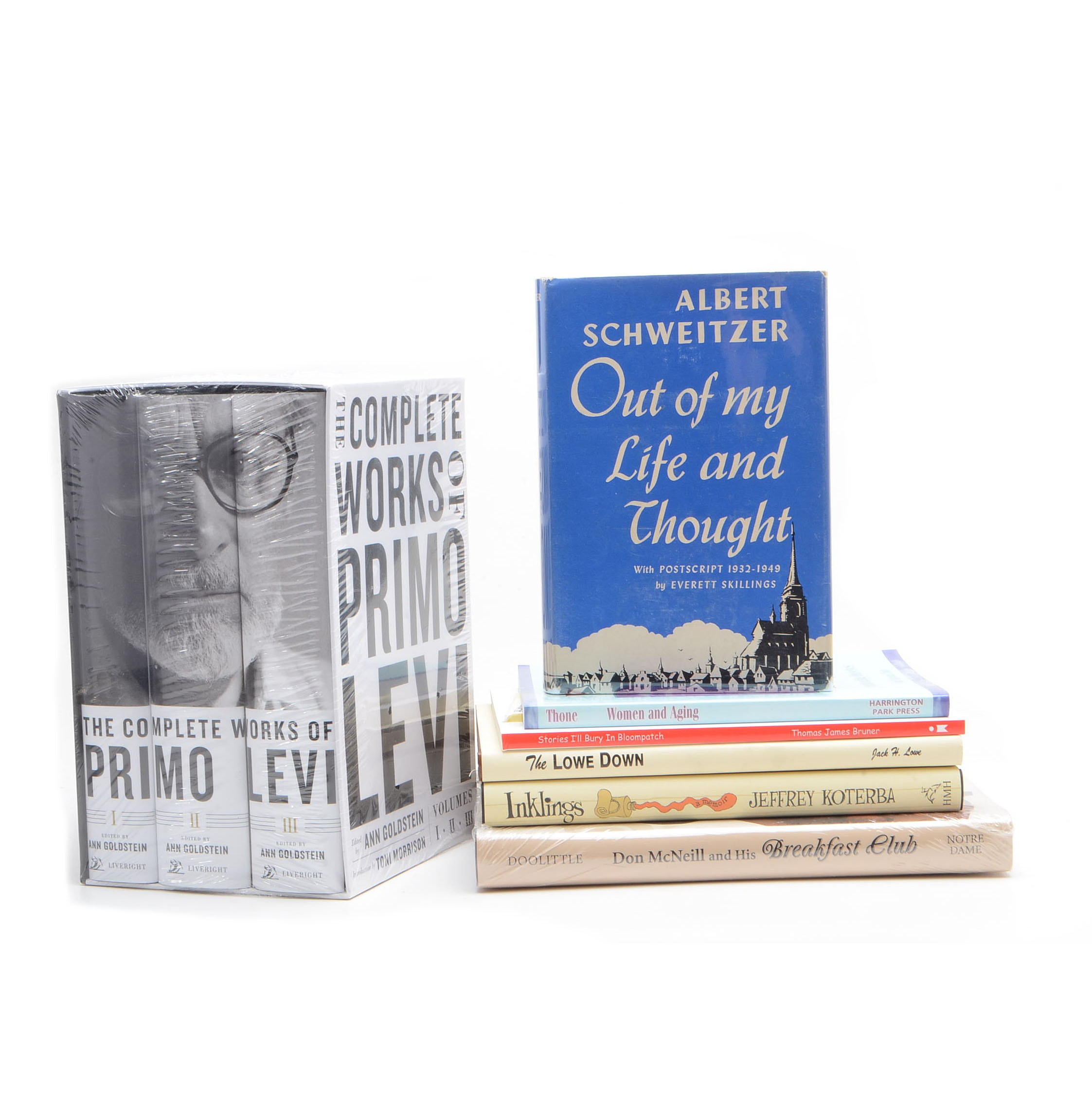 Group of Memoir and Autobiography Books