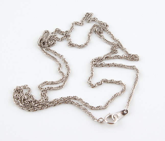 Platinum Chain Necklace